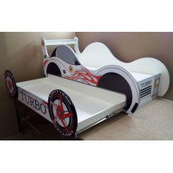 Кровать-машина «Турбо» с выдвижным спальным местом