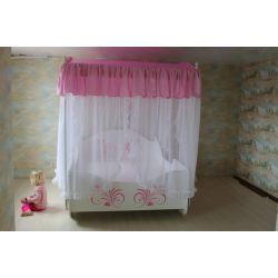 Кровать-карета «Нежный Шёлк»