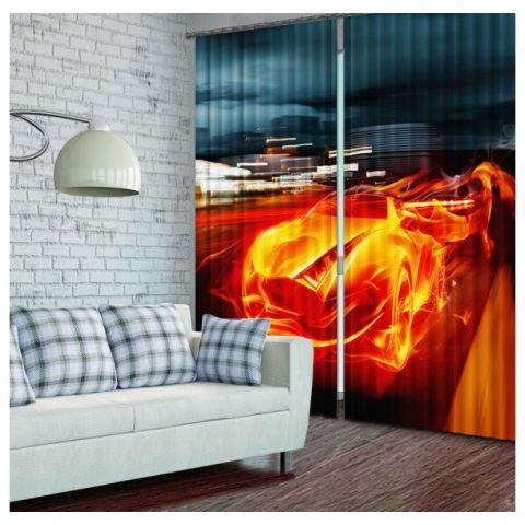 Фотошторы «Огненный мотор»