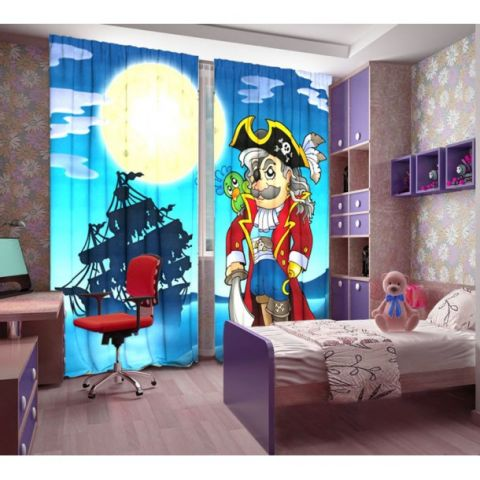 Фотошторы «Пират»