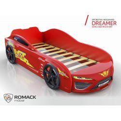 Кровать-машина «Dreamer - Молния», матрас на выбор, 2 цвета
