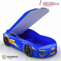 Кровать-машина «Dreamer-M» с матрасом, 7 цветов