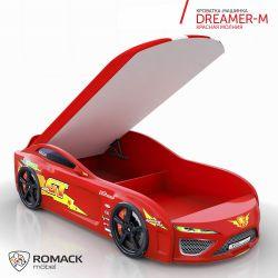 Кровать-машина «Dreamer-M - Молния» с матрасом, 2 цвета