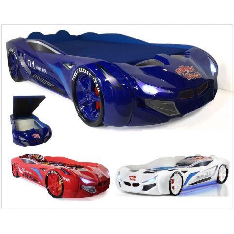 Размер - 232x116x54 см, спальное место - 190x90 см. Материал - ABS-пластик на основе ЛДСП.