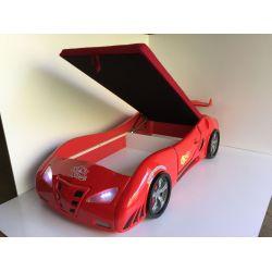 Кровать-машина «Фанки Энзо» с подъемным спальным местом и ящиком 20015