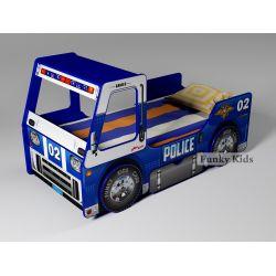 Кровать-грузовик «Полицейская машина»