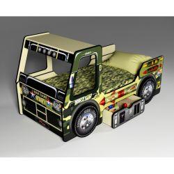 Кровать-грузовик «Милитари»