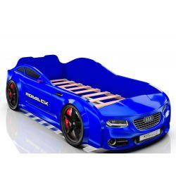 Кровать-машина «Romack Real - Audi», матрас на выбор, 5 цветов