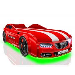 Кровать-машина «Romack Real-M - Audi» с матрасом, 5 цветов