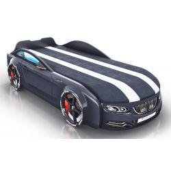 Кровать-машина «Romack Real-M - BMW» с матрасом, 5 цветов
