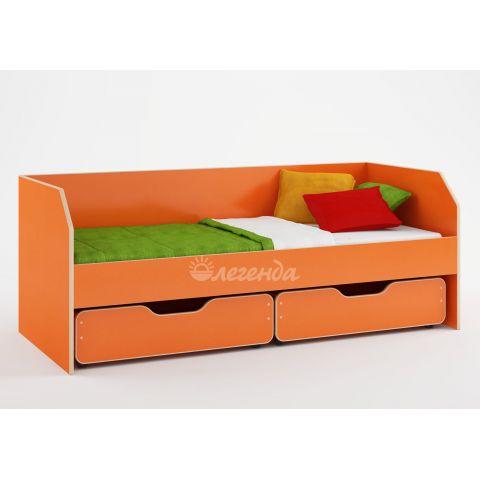 Размер - 195x85x75 см (ШxГxВ), спальное место - 190x80 см, допустимая нагрузка на спальное место - 80 кг. Материал - ЛДСП, 16 мм (класс эмиссии - Е1)
