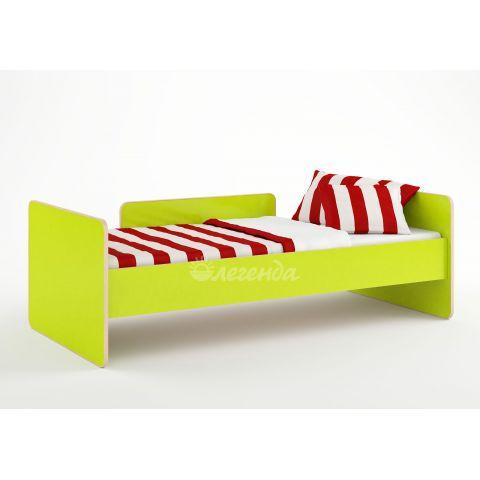 Размер - 184,2x90x60 см (ШxГxВ), спальное место - 180x80 см, допустимая нагрузка на спальное место - 80 кг. Материал - ЛДСП, 16 мм (класс эмиссии - Е1)