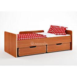 Кровать детская «Легенда 14» (с ящиками)