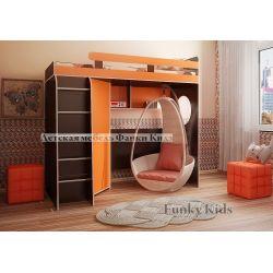 Кровать-чердак «Фанки Кидз 3 СВ»