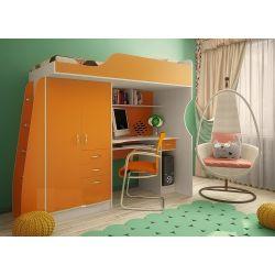 Кровать-чердак «Фанки Кидз 4 СВ»