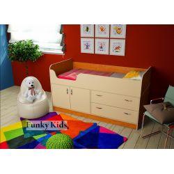 Кровать-чердак низкая «Фанки Кидз 9 СВ»