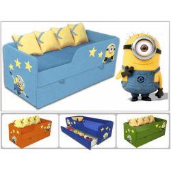 Кровать-диван «Миньоны» арт. 30006