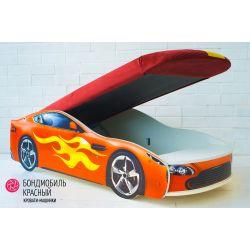 Кровать-машина «Бондмобиль»
