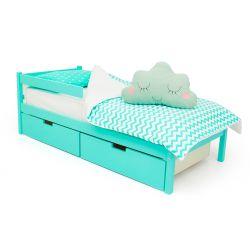 Деревянная кровать «Skogen classic мятный»