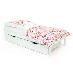 Деревянная кровать «Skogen classic белый»