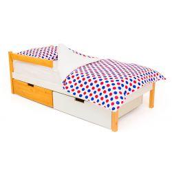Деревянная кровать «Skogen classic дерево-белый»