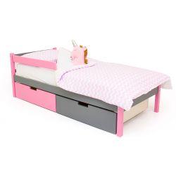 Деревянная кровать «Skogen classic лаванда-графит»