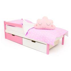 Деревянная кровать «Skogen classic лаванда-белый»