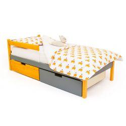 Деревянная кровать «Skogen classic дерево-графит»
