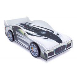 Кровать-машина «Ауди» с подъемным механизмом