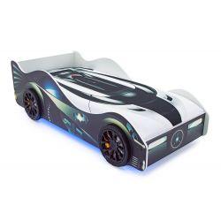 Кровать-машина «Бэтмобиль» с подъемным механизмом