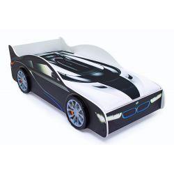 Кровать-машина «БМВ» с подъемным механизмом