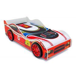 Кровать-машина «Пожарная охрана» с подъемным механизмом