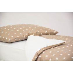 Детское постельное белье «Звезды, фон - бежевый» (бязь)