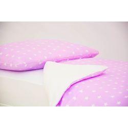 Детское постельное белье «Звезды, фон лаванда» (бязь)