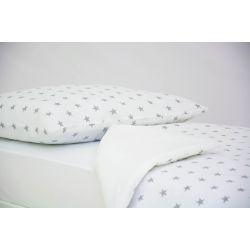 Детское постельное белье «Звезды графит» (бязь)
