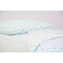 Детское постельное белье «Звезды мятные» (бязь)