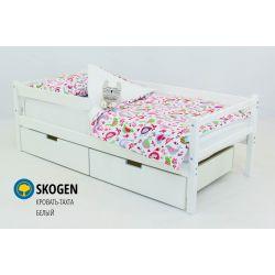 Деревянная кровать-тахта «Skogen белый»