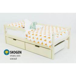 Деревянная кровать-тахта «Skogen бежевый»