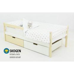 Деревянная кровать-тахта «Skogen бело-бежевый»
