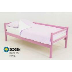 Деревянная кровать-тахта «Skogen лаванда» без аксессуаров