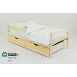 Деревянная кровать-тахта «Skogen натура»
