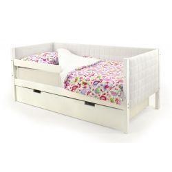 Мягкая кровать-тахта «Skogen белый»