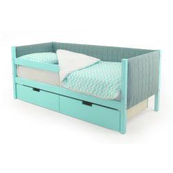 Мягкая кровать-тахта «Skogen мятный»
