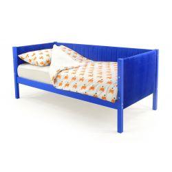 Мягкая кровать-тахта «Skogen синий» без аксессуаров