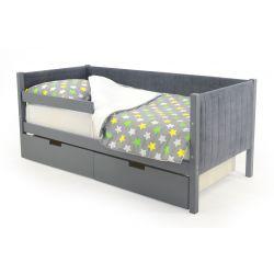 Мягкая кровать-тахта «Skogen графит»