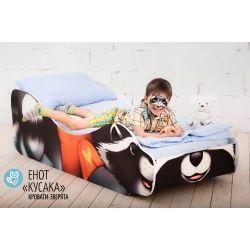 Детская кровать «Енот Кусака»