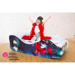 Детская кровать «Кошка Мурка»