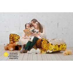 Детская кровать «Леопард Пятныш»