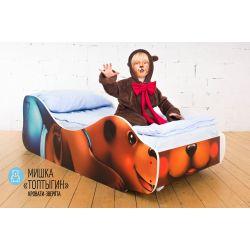 Детская кровать «Мишка Топтыгин»
