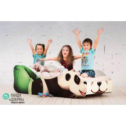 Детская кровать «Панда Добряк»